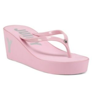 Juicy Couture Shoes - ⬇️15 Juicy by Juicy Couture Platform Thong Sandals
